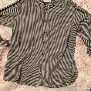 Men's Wrangler Jeans button down shirt